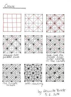 "tangle pattern ""Crux"""