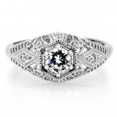 Tara's engagement ring from Sons of Anarchy.... Unique and beautiful ;)