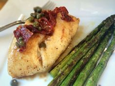 Pan Roasted Halibut with Prosciutto and White Wine Sauce — The ...