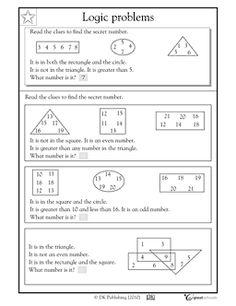 Math logic problems