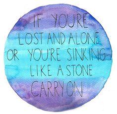 Carry On ~ Fun.