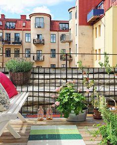 Balkon planken