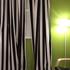 Curtains On Pinterest Striped Curtains Curtains And