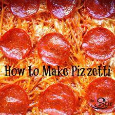 Pizza + Spaghetti = Pizzetti Casserole = YUM!