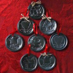 tin punched ornaments