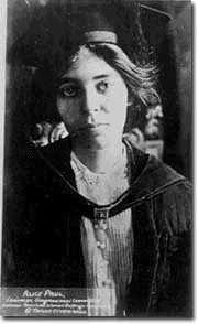 Alice Paul (1885-1977)  Women's Sufferage Leader   More about the inspiring Alice Paul http://www.alicepaul.org/ @AlicePaulInstit