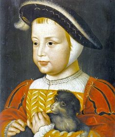 4th Child of Claude de France - Henry II, King of France (1519-1559) by Jean Clouet (1475-1540) Married to Catherine de Medici