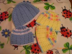 Preemie Hat Project blog- many crochet patterns for preemies and newborns mostly preemie