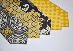 I like the idea of adding a pattern other than the tablecloths. It solves a problem of tying it all together.