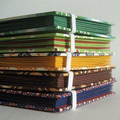 Handmade books by Kasaa