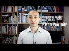 Presentation Design Quick Tip #4 P is for Proximity