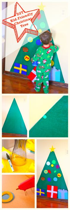 How to Make a Kid-Friendly Christmas Tree