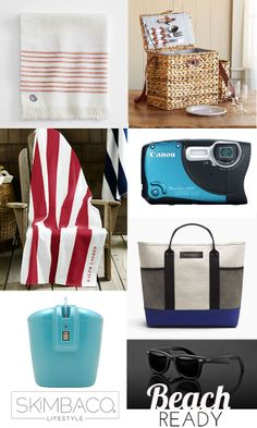 7 Must Have Products for Beach Fun (work as Father's Day gifts too) from @Skimbacolifestyle.com