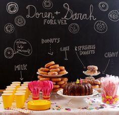 Donut themed wedding shower!