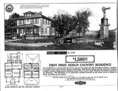 Sears Roebuck Kit Homes 1908-1940.