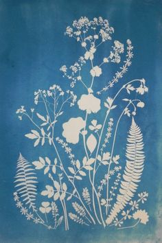 Cyanotype-- printing on chemically-sensitive fabric with sun exposure. Must remember to buy!