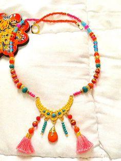 SALE ARABIAN PRINCESS Necklace  22k Gold Plated  Middle by Nezihe1