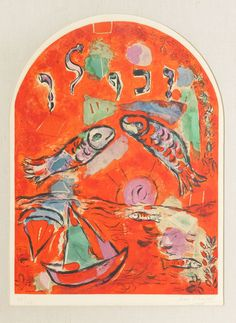 Chagall, Tribe of Zebulun