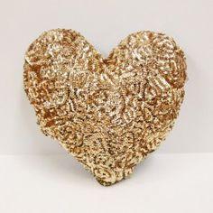 Sequins Heart Cushion by Atsuyo et Akiko #kids #nursery #decor #estella