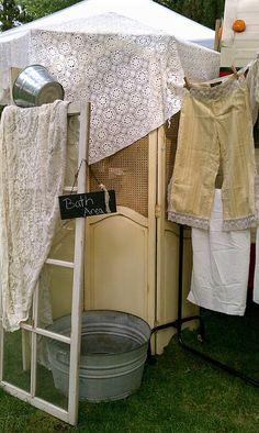 bath area  - Nellies Barn Sale baths, barn sale, templates, barns, letters