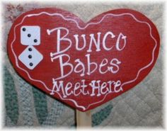 Bunco heart signs