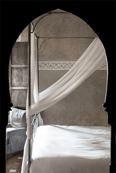 Moroccan Arch to bedroom☆