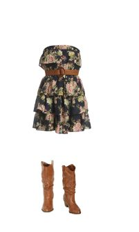 Love floral dresses!