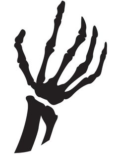 Skeleton Hand Pumpkin Carving Template >> http://www.diynetwork.com/decorating/24-halloween-pumpkin-carving-templates/pictures/index.html?soc=pinterest