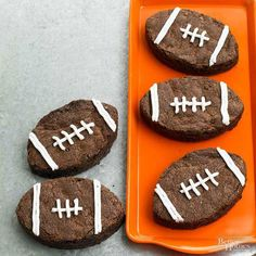 Fudgy Football Brown