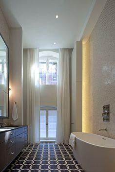 Tribeca Loft Master Bathroom - by David Howell Design