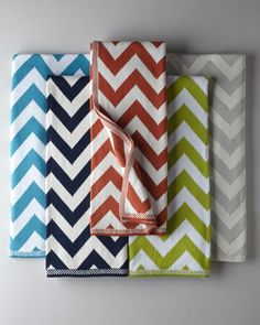 Chevron Knit Throws :: LOVE!