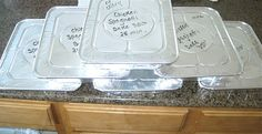 freezer meals, but also a good idea to gather with others to conquer multiple freezer meals.