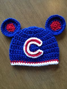 Chicago Cubs inspired hat