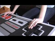 Aw. Yeah. NES controller coffee table DIY