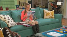 """I love this spider pillow from """"Good Luck Charlie"""" - so quirky!"""