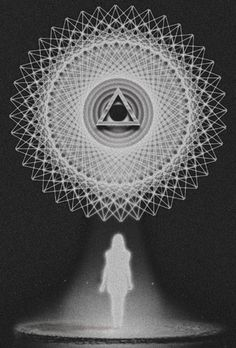 sacr feminin, spiritu, occult, sacr geometri, art, sacred geometry, inspir, triangl, eye
