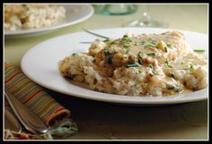 Chicken with Creamy Chive Sauce