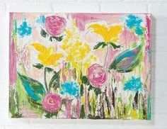 Garden Party: Canvas and Floral Art