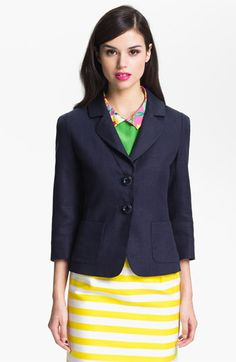 Nordstrom's half-yearly sale is on right now, including some awesome previous picks such as this Alix jacket by Kate Spade New York -- was $365 now marked to $226.