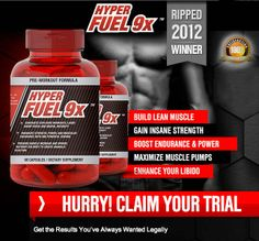 Don't be a skeptic yourself, if you still are unsure then grab your risk free trial bottle of Hyper Fuel 9x and see and feel the power and full effects flowing through you. From whence do admirers snag painless Hyper Fuel 9X blogs? Watch yourself in the mirror and recognize the changes that are extremely important for your body to become an eye-catching model