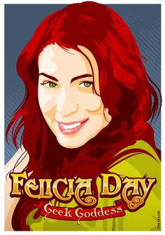Felicia Day- Geek Goddess