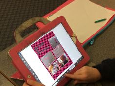 Patterning with iPads and Pic Collage: http://theapptivelearninglab.com/2014/04/30/patterning-with-ipads/