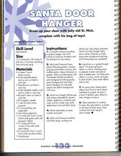 Santa Door Hanger 1/6