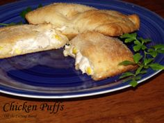 Chicken Puffs An easy, kid-friendly, meal that sneaks in veggies but still has them coming back for second helpings!