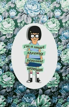 Tina- Bob's Burgers. She's my spirit animal