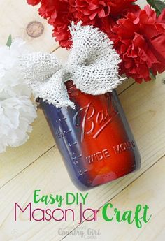 Easy DIY Painted Mas
