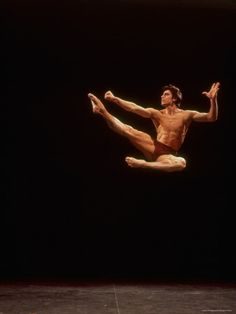 Dancer Edward Villella In A Performance By George Balanchine