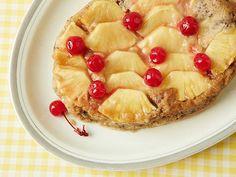 Slow Cooker Pineapple Upside-Down Cake #UltimateComfortFood