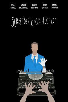 Stranger than Fiction Movie posters/ Fan art by Luigy Haddock, via Behance