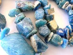 And these: Ancient Roman Glass Beads - Afghanistan.  http://www.happymangobeads.com/ancientromanglassbeads-afghanistanaf607.aspx